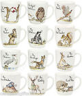 Churchill Country Pursuits Olive China Mug Fox Hare Owl Badger Otter Stork Mole