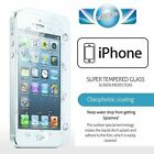 100% GENUINE TEMPERED GLASS FILM SCREEN PROTECTOR FOR APPLE IPHONE MODELS
