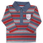 Timberland Long Sleeved Stripe Kids Toddlers Boys Polo Shirt (T0C19-968 R3)