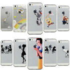 Slim Transparent Cute Mickey Soft TPU Rubber Case Cover For iPhone 5S 6 6 Plus