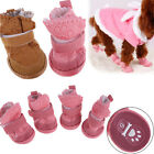 Lovely Dog Pet Puppy Cat Warm Cotton Winter Anti-Slip Shoes Snow Boots Booties
