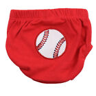 Baseball Red Diaper Covers Bloomers Cotton Boy Toddler Baby Sports Comfy