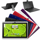 """7"""" Quad Core Android 4.4 Kitkat Tablet PC Bluetooth Bundled Keyboard Case"""