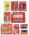 Kids Colouring Pen & Pencil Sets (Activity/Fun/Creative/Play/Art/Stationery)(KC)