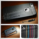 New Hard Back Case Cover for Apple iPhone 5 5S 6 6 Plus FREE Screen Protector