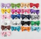 New Tie Embroidery forked tail Sequin Paillette Bowknot bows Applique 21color