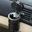 1Pcs Auto Car Home Office Cigarette Smoke Ashtrays Carry Holder with LED Light Z