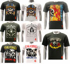 ASIA SIZE Rock Band T-shirt Guns N Roses Slash Retro Music Band Men RABB