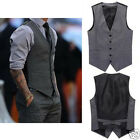 Cool New  Men's Gentle Fit Premium Casual slim Waistcoat Vest-JR AU