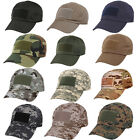Tactical Operator Hat with Front & Top Velcro for Flag Patch Ball Cap