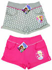 Girls Disney Frozen Sisters Anna & Elsa Turn Up Summer Shorts 4 5 6 8 Years NEW