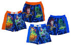 Boy's Toy Story Buzz Lightyear REX Woody Mesh Lined Swim Shorts 3 - 8 Years NEW