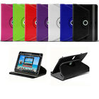 """For All 10"""" Android Tablet Tab 360 Rotary Crystal PU Leather Case Stand Cover"""