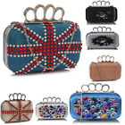 Ladies Fashion Designer Evening Clutch Bag Women's Small Beaded Chic Handbag