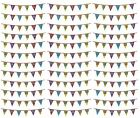 Ages 1-21 Birthday Pennant BUNTING 8m(Banner/Flag/Party/MultiColour/Holographic)