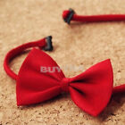 Lovely Fresh Baby Boy Pre Tied Party Wedding Tuxedo Bowties Tie Necktie JRAU