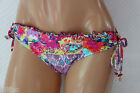 *NEW Kenneth Cole Multi Floral Tie sides Swim Bikini Bottom L Large