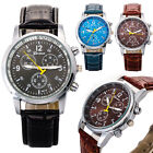 Casual Men Watch Brand Luxury Wristwatch Leather Sports Watch Relogio Masculino image