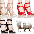 On Sale  Women Satin Prom Tango Ballroom Latin Salsa Dance Heels Shoes Erogenous