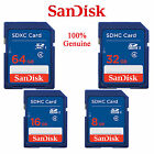 Original SanDisk 8GB 16GB 32GB 64GB SDHC Memory Flash Card SD Class4/10 f.Camera