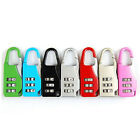 New Travel Security Safe Luggage Code Password Lock Padlock 3 Digit Combination