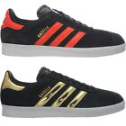 Adidas Gazelle 2 black with red or gold Men's Shoes Sport Fashion Sneakers NEW