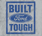 Ford Mustang Built Tough HEATHER GRAY Adult T-shirt