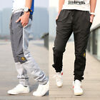 Men's Korean Sport straight Jogging Sweat Pants Casual Slim Fit Trousers Slascks