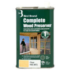 Bird Brand Complete Wood Preserver Prevents Rot Mould and Decay HSE Approved