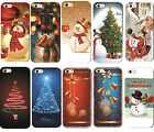 New Christmas Painted Phone Hard Skin Case Cover For  iPhone4 4S/5C/6Plus