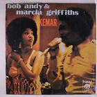 BOB ANDY & MARCIA GRIFFITHS: Kemar LP (some shrink missing) rare Reggae