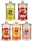 Jelly Belly Scented Candle Jar Very Cherry Mango Bubblegum Cinnamon Tangerine