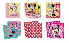 20 MINNIE MOUSE PARTY NAPKINS- Range of Designs (Tableware/Disney/Kids/Birthday)