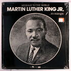 MARTIN LUTHER KING: Message To The World, Vol. 2: It's Midnight LP (shrink) Spo