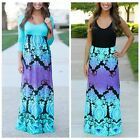 Hippie Womens Maxi Boho Summer Long Skirt Evening Cocktail Party Dress PLUS Size