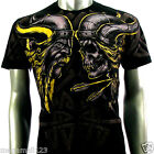 Artful Couture T-Shirt Sz M L XL XXL Viking Hell Knight Gothic Tattoo Rock AB63