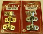 Sash Window Fastener Lever Arm Lock Catch Latch Wooden Brass or Zinc Plated