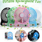 Portable Rechargeable USB Desk Pocket Mini Fan Handheld Travel Blower Air Cooler