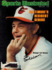 EARL WEAVER AUTOGRAPHED/SIGNED BALTIMORE ORIOLES SPORTS ILLUSTRATED 6/18/1979