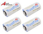 1/2/4pcs CR123A 1400mAh 3.0V Primary Lithium Battery for SureFire MagLite Olight