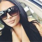 Flat Top Oversized Square Aviator Oversized Extra Large Big Frame Sunglasses