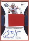 2015 Trinity Blue #JH1 Jeff Heuerman 2 Color Patch Autograph #08/25 OHIO STATE