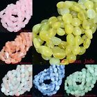 """8-12mm Wholesale Natural Gemstone Nugget Round Spacer Loose Beads 16"""""""