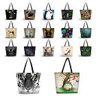 Soft Women's Shopping Bag Foldable Tote Shoulder Bag Beach Handbag Satchel