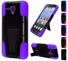 For Alcatel One Touch Pop Star 2 Pop Nova A520L Dual Layer TSTAND Cover Case