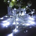 Battery Power Operated 10/20/30/40 LED Xmas Wedding Party String Fairy Light