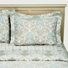NEW SIMPLY SHABBY CHIC DAMASK SCROLL REVERSIBLE COMFORTER SET KING QUEEN TWIN