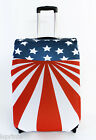STARS & STRIPES USA DESIGN CASESKINZ SUITCASE COVER  *SUITCASE NOT INCLUDED*
