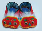 ARTS & CRAFTS FOLK TIGER SHOE KID BABY XMAS GIFT IDEA