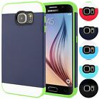 For Samsung Galaxy S6 Hybrid Case Shockproof Slim Fit Armor Cover Skin